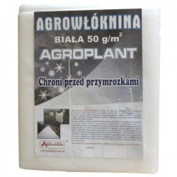 Agrowłóknina biała P-50 1,6x5m