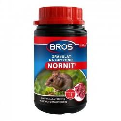 Nornit granulat na nornice i karczowniki 250g Bros