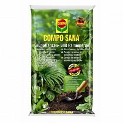 Podłoże do roślin zielonych i palm Compo 10l