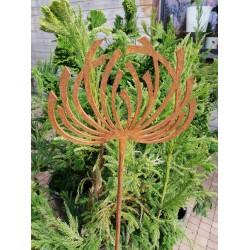 POWOJNIK MAŁY  - dekoracyjna rdza ogrodowa na pręcie