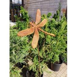 WAŻKA - dekoracyjna rdza ogrodowa na pręcie