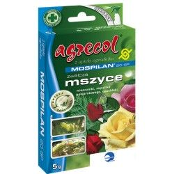 Mospilan 20 SP Róże ZWALCZA MSZYCE, MISECZNIKI, MĄCZLIKA SZKLARNIOWEGO 5g