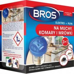 Bros elektro+plyn Na muchy komary i mrówki