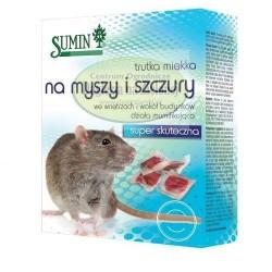 Sumin trutka miękka na myszy i szczury 500g