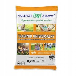 Trawa uniwersalna 0,2 kg najlepsze trawy z Iławy
