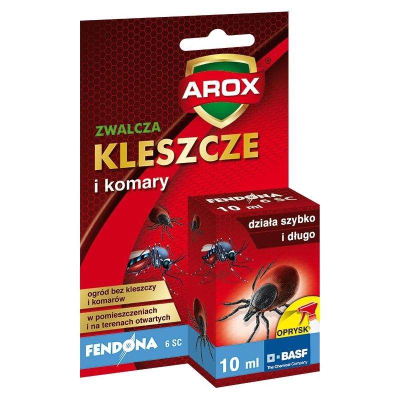 Fendona zwalcza komary i kleszcze Arox 10 ml