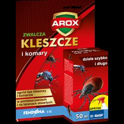 Fendona zwalcza komary i kleszcze Arox 50 ml