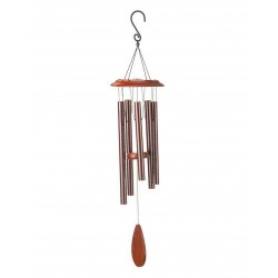 Dzwonki wiatrowe Gong wietrzny metalowy melodyjny 87 cm