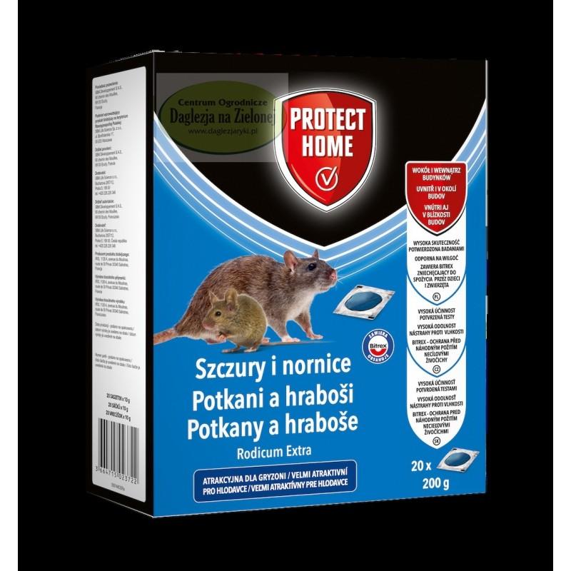 Rodicum extra na szczury i nornice 200g