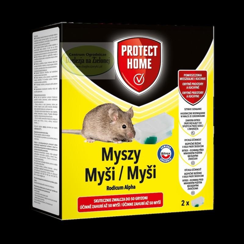 Rodicum Alpha myszy dwie pułapki z trucizną