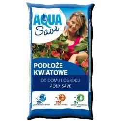 Podłoże kwiatowe 20L do kwiatów Aqua Save Hollas