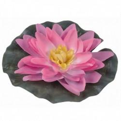 Lilia wodna jedwabna śr 15 cm różowa