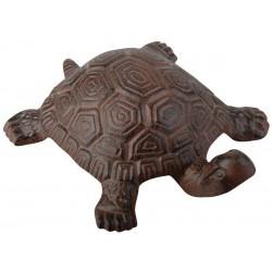 Żółw żeliwny dekoracyjny