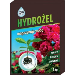 Hydrożel 1kg magazyn wody do roslin kwiatów nawilżacz