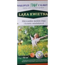 Mieszanka nasion traw i kwiatów miododajnych 1 kg