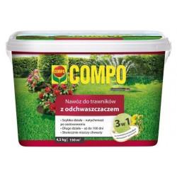 Nawóz do trawników z odchwaszczaczem4,5 kg Compo