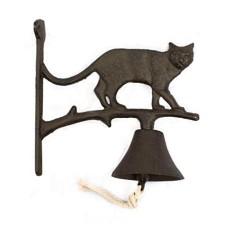 Dzwonek żeliwny Kot