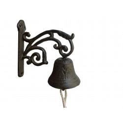 Dzwonek żeliwny Dzwon z wzorem