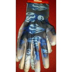 Rękawice wzorki granat rozmiar 8