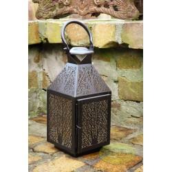 Lampion latarnia metalowa 39 cm