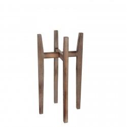 Drewniany kwietnik