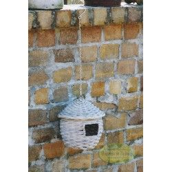 Karmnik dla ptaków wiszący budka