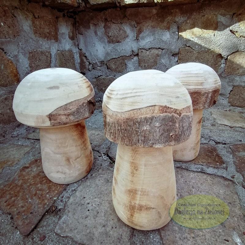 Drewniany grzybek
