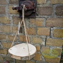 Podstawka wisząca plaster drewna