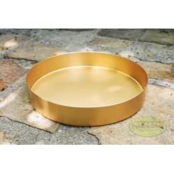 Metalowa złota podstawka