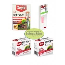 Kretołap + 2 zestawy petard + 1 zestaw: czujnik i dziwignia  Target PAKIET