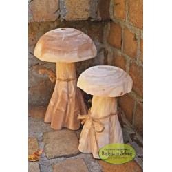 Drewniany grzybek duży z paulowni