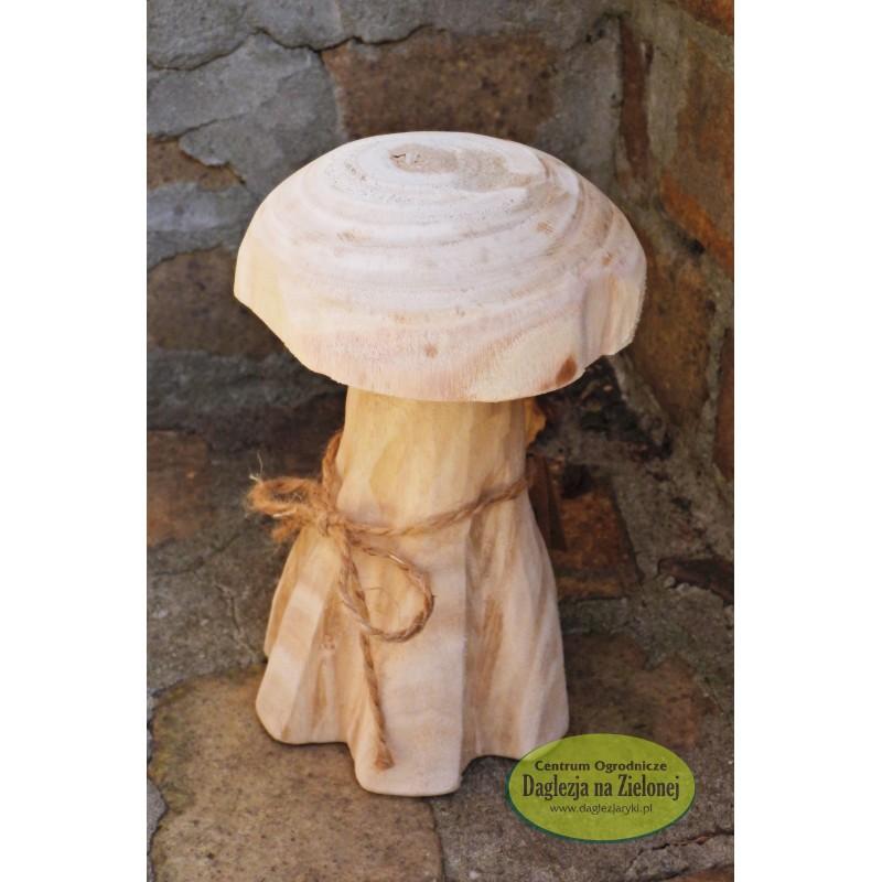 Drewniany grzybek mały z paulowni