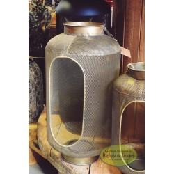 Lampion złoty ażurowy 49 cm