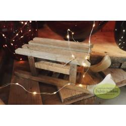 Sanki drewniane 32 cm