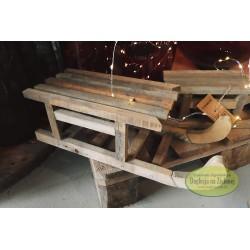 Sanki drewniane 41 cm