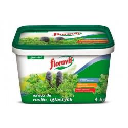 Florovit nawóz do roślin iglastych 4kg-wiaderko