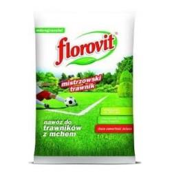 florovit do trawników z mchem mikrogranulat 10kg
